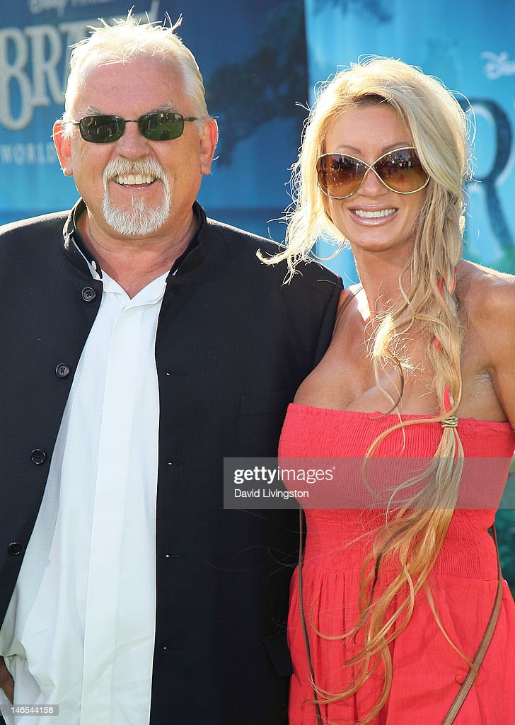 Actor <a gi-track='captionPersonalityLinkClicked' href=/galleries/search?phrase=John+Ratzenberger&family=editorial&specificpeople=239093 ng-click='$event.stopPropagation()'>John Ratzenberger</a> (L) and guest attend Film Independent's 2012 Los Angeles Film Festival premiere of Disney Pixar's 'Brave' at the Dolby Theatre on June 18, 2012 in Hollywood, California.