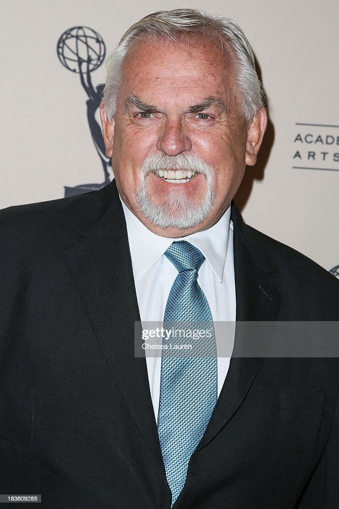 Actor <a gi-track='captionPersonalityLinkClicked' href=/galleries/search?phrase=John+Ratzenberger&family=editorial&specificpeople=239093 ng-click='$event.stopPropagation()'>John Ratzenberger</a> arrives at 'An Evening Honoring James Burrows' at Academy of Television Arts & Sciences on October 7, 2013 in North Hollywood, California.