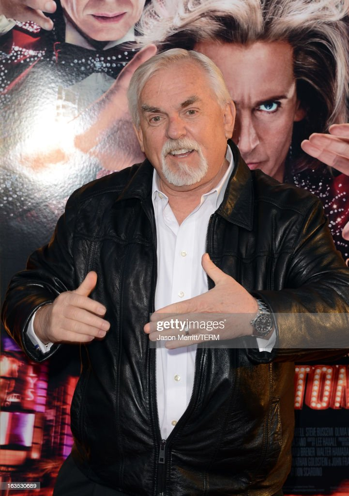 Actor <a gi-track='captionPersonalityLinkClicked' href=/galleries/search?phrase=John+Ratzenberger&family=editorial&specificpeople=239093 ng-click='$event.stopPropagation()'>John Ratzenberger</a> attends the premiere of Warner Bros. Pictures' 'The Incredible Burt Wonderstone' at TCL Chinese Theatre on March 11, 2013 in Hollywood, California.