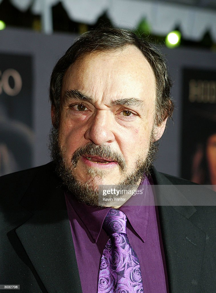 Actor John Rhys-Davies arrives at the premiere of Touchstone's 'Hildago' at the El Capitan Theatre on March 1, 2004 in Los Angeles, California.
