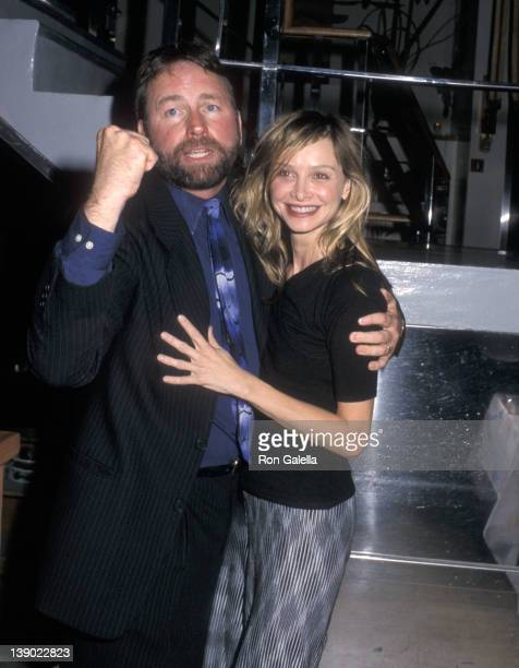 Actor John Ritter and actress Calista Flockhart attend the 'Neil Simon at the Neil Simon' Stage Performances to Salute Playwright Neil Simon After...