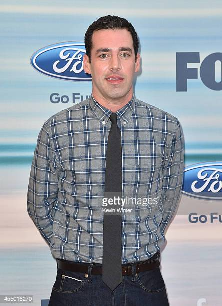 Actor John Roberts attends the 2014 FOX Fall EcoCasino party at The Bungalow on September 8 2014 in Santa Monica California