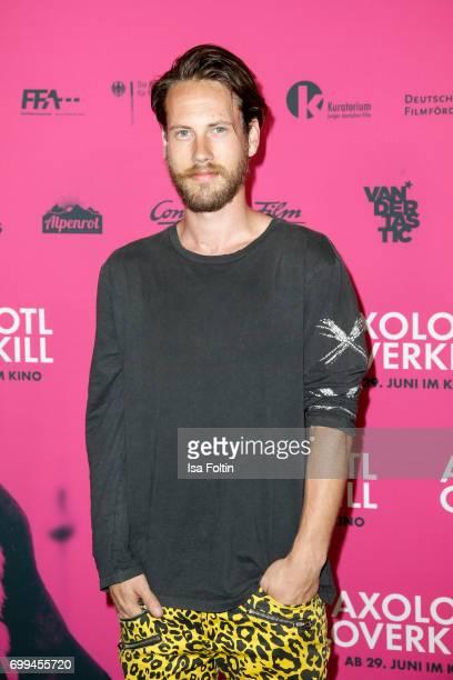 US actor John Robinson attends the 'Axolotl Overkill' Berlin Premiere at Volksbuehne RosaLuxemburgPlatz on June 21 2017 in Berlin Germany