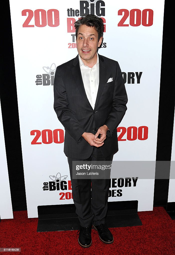 Actor John Ross Bowie attends 'The Big Bang Theory' 200th episode celebration at Vibiana on February 20 2016 in Los Angeles California
