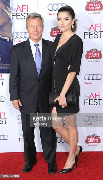 Actor John Savage and actress Blanca Blanco arrive at AFI FEST 2014 Presented By Audi 'Saint Laurent' Special Screening held at Dolby Theatre on...