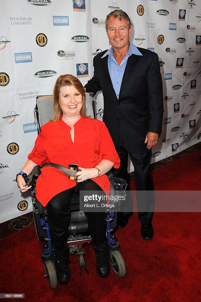 Actor <a gi-track='captionPersonalityLinkClicked' href=/galleries/search?phrase=John+Savage+-+Acteur&family=editorial&specificpeople=12658857 ng-click='$event.stopPropagation()'>John Savage</a> and Jenny Gold arrive for The Burbank Film Festival - Closing Night Gala Dinner and Awards Ceremony held at Castaways on September 8, 2013 in Burbank, California.