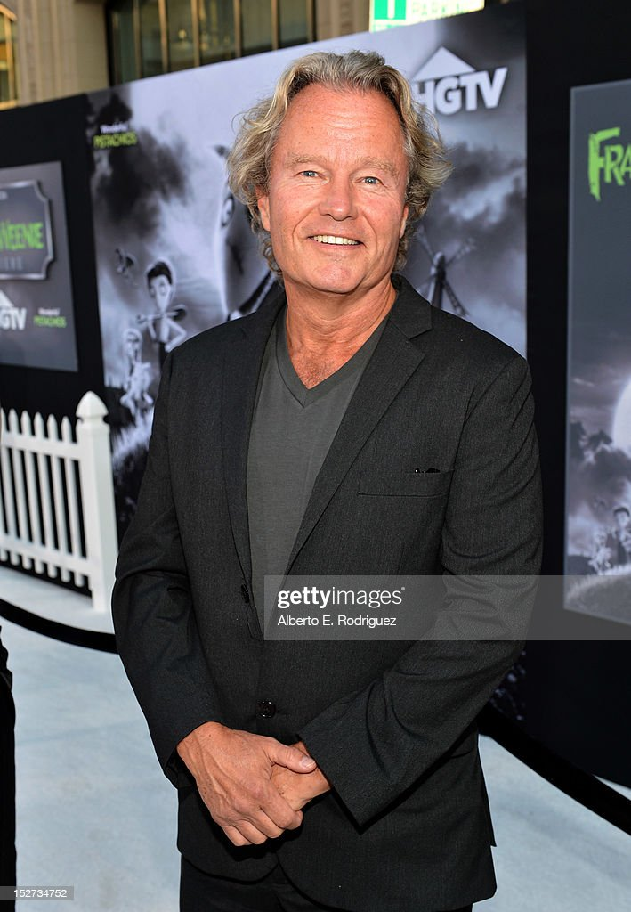Actor <a gi-track='captionPersonalityLinkClicked' href=/galleries/search?phrase=John+Savage+-+Actor&family=editorial&specificpeople=12658857 ng-click='$event.stopPropagation()'>John Savage</a> arrives at Disney's 'Frankenweenie' premiere at the El Capitan Theatre on September 24, 2012 in Hollywood, California.