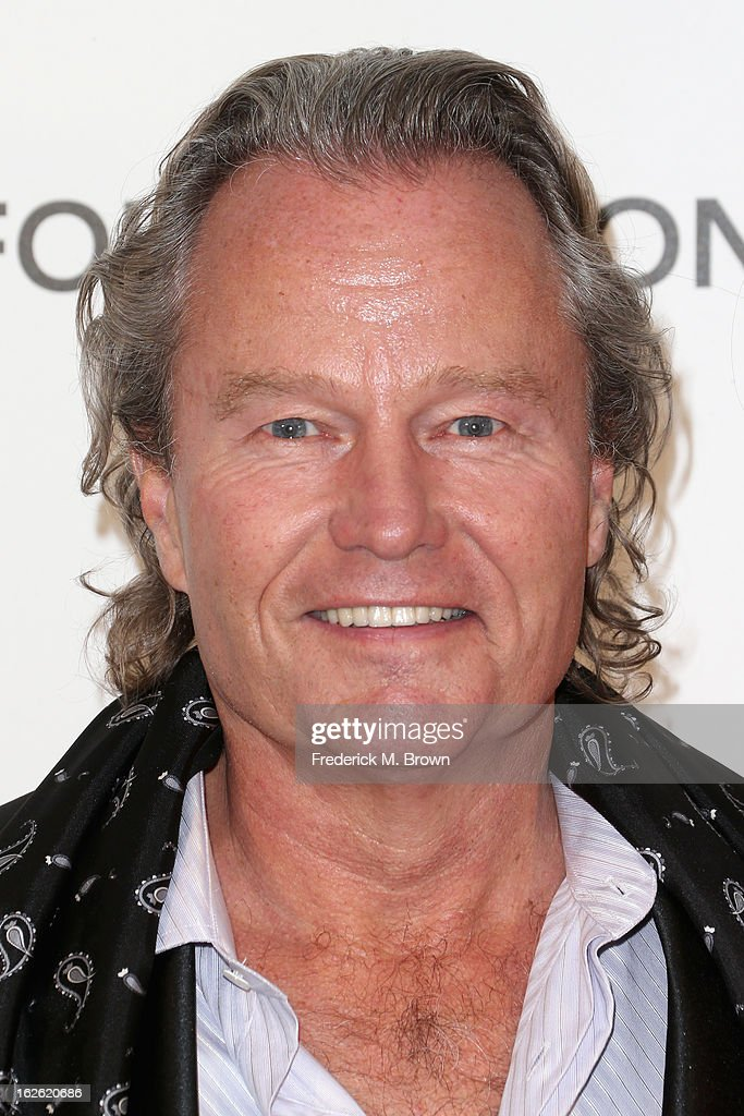 Actor <a gi-track='captionPersonalityLinkClicked' href=/galleries/search?phrase=John+Savage+-+Acteur&family=editorial&specificpeople=12658857 ng-click='$event.stopPropagation()'>John Savage</a> arrives at the 21st Annual Elton John AIDS Foundation's Oscar Viewing Party on February 24, 2013 in Los Angeles, California.
