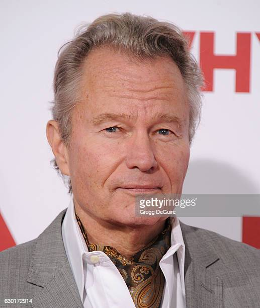Actor John Savage arrives at the premiere of 20th Century Fox's 'Why Him' at Regency Bruin Theater on December 17 2016 in Westwood California