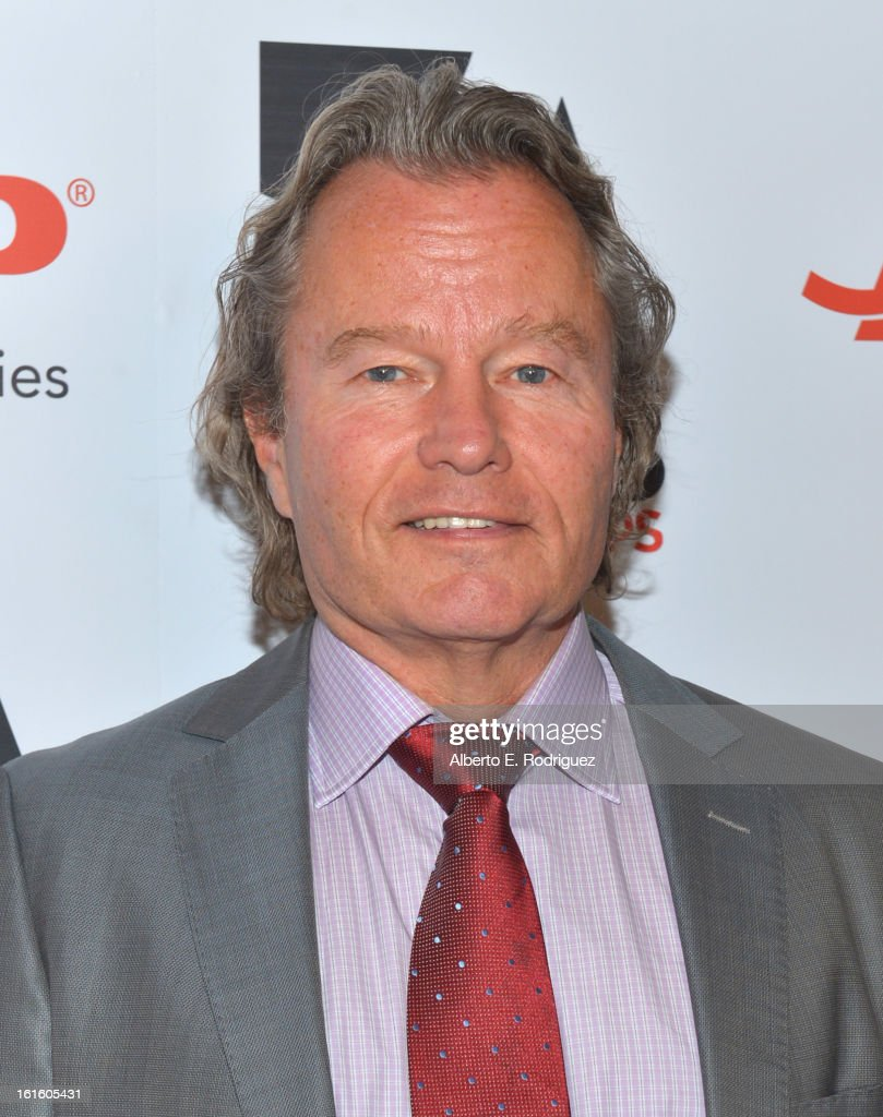 Actor <a gi-track='captionPersonalityLinkClicked' href=/galleries/search?phrase=John+Savage+-+Actor&family=editorial&specificpeople=12658857 ng-click='$event.stopPropagation()'>John Savage</a> arrives to AARP The Magazine's 12th Annual Movies for Grownups Awards Luncheon at Peninsula Hotel on February 12, 2013 in Beverly Hills, California.