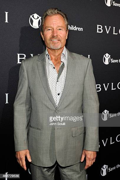 Actor John Savage attends BVLGARI and Save The Children STOP THINK GIVE PreOscar Event at Spago on February 17 2015 in Beverly Hills California