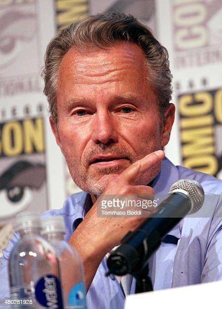 Actor John Savage attends 'Tales of Halloween' Panel during ComicCon International 2015 at Horton Grand Theatre on July 10 2015 in San Diego...