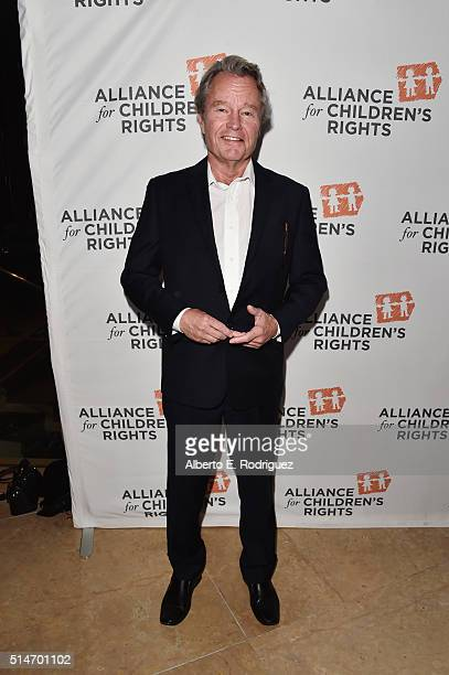 Actor John Savage attends the Alliance for Children's Rights' 24th annual dinner at The Beverly Hilton Hotel on March 10 2016 in Beverly Hills...