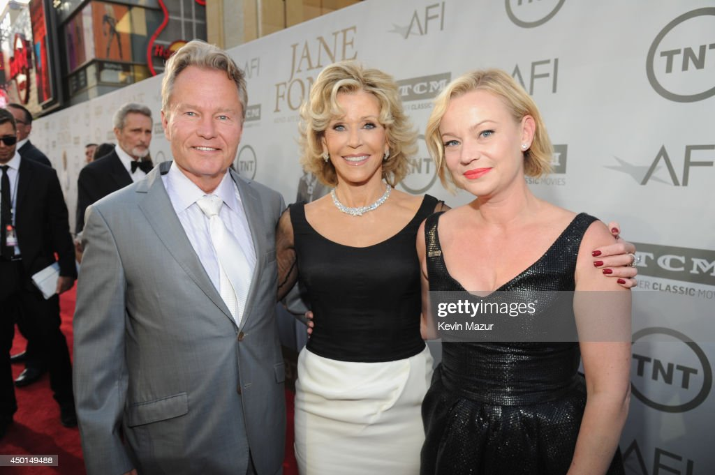 Actor John Savage, honoree Jane Fonda and actress Samantha Mathis attend the 2014 AFI Life Achievement Award: A Tribute to Jane Fonda at the Dolby Theatre on June 5, 2014 in Hollywood, California. Tribute show airing Saturday, June 14, 2014 at 9pm ET/PT on TNT.