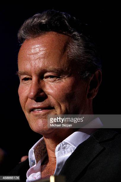 Actor John Savage speaks onstage during Katherine Castro Receives Hollywood FAME Awards at Avalon on November 12 2014 in Hollywood California