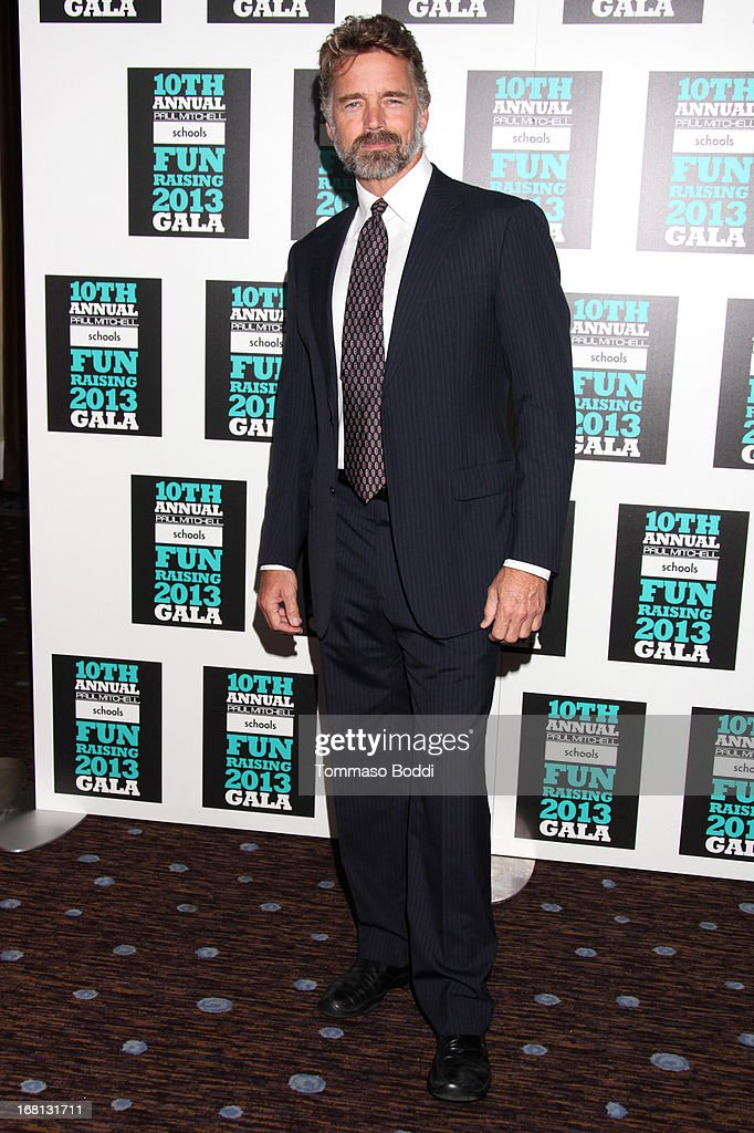 Actor John Schneider attends the Paul Mitchell's 10th Annual Fundraiser held at The Beverly Hilton Hotel on May 5, 2013 in Beverly Hills, California.