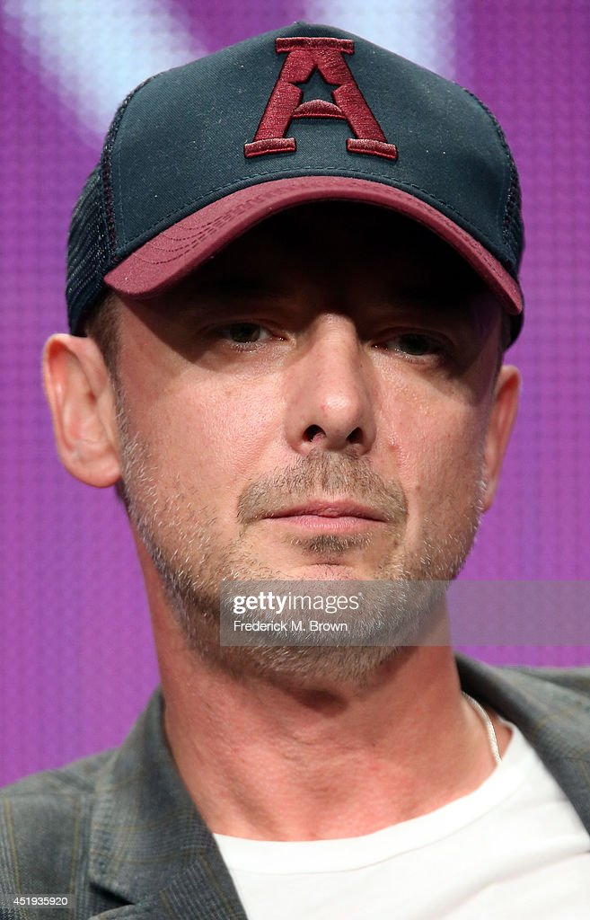 Actor John Simm speaks onstage at the 'Intruders' panel during the BBC America portion of the 2014 Summer Television Critics Association at The Beverly Hilton Hotel on July 9, 2014 in Beverly Hills, California.