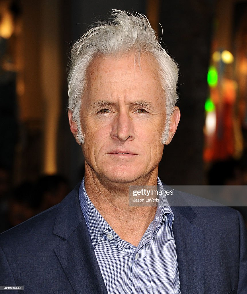Actor <a gi-track='captionPersonalityLinkClicked' href=/galleries/search?phrase=John+Slattery&family=editorial&specificpeople=857095 ng-click='$event.stopPropagation()'>John Slattery</a> attends the premiere of 'Million Dollar Arm' at the El Capitan Theatre on May 6, 2014 in Hollywood, California.