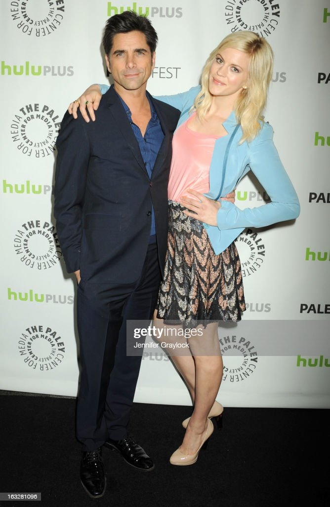 Actor John Stamos and Actress Georgia King attends the 30th Annual PaleyFest: The William S. Paley Television Festival Honors The New Normal held at Saban Theatre on March 6, 2013 in Beverly Hills, California.