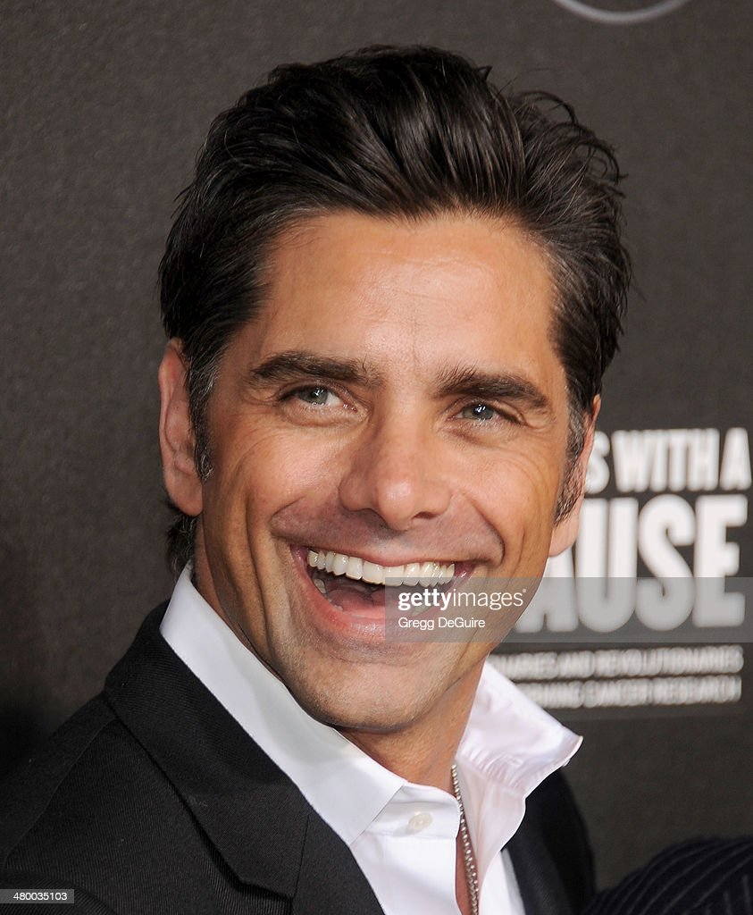 Actor <a gi-track='captionPersonalityLinkClicked' href=/galleries/search?phrase=John+Stamos&family=editorial&specificpeople=206285 ng-click='$event.stopPropagation()'>John Stamos</a> arrives at the 2nd Annual Rebel With A Cause Gala at Paramount Studios on March 20, 2014 in Hollywood, California.