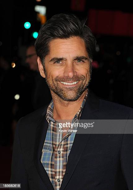 Actor John Stamos arrives at the premiere of Paramount Pictures' 'Jackass Presents Bad Grandpa' at TCL Chinese Theatre on October 23 2013 in...