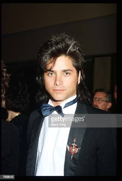 Actor John Stamos attends a Starlight Foundation benefit gala February 19 1988 in Los Angeles CA The Foundation grants wishes and provides...