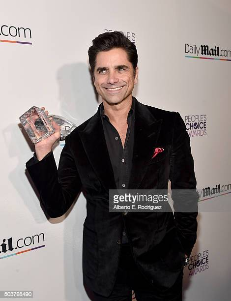Actor John Stamos attends DailyMail's after party for 2016 People's Choice Awards at Club Nokia on January 6 2016 in Los Angeles California