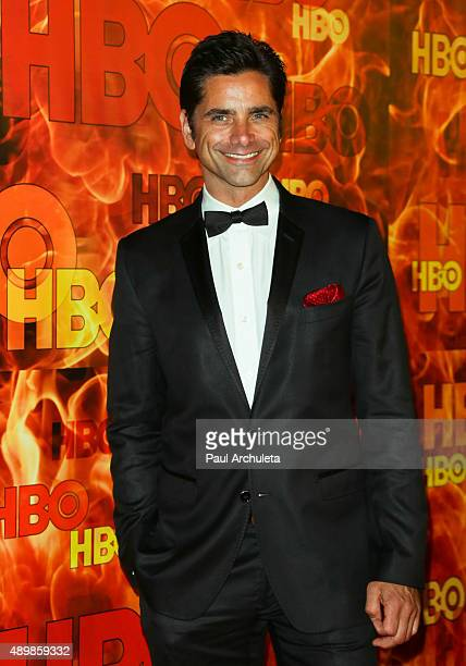 Actor John Stamos attends HBO's official 2015 Emmy After Party at The Plaza at the Pacific Design Center on September 20 2015 in Los Angeles...