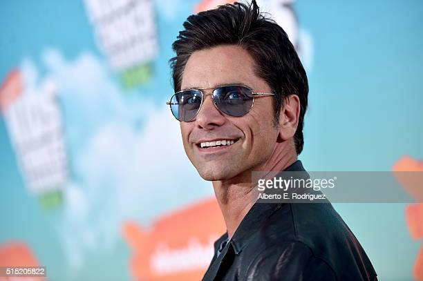 Actor John Stamos attends Nickelodeon's 2016 Kids' Choice Awards at The Forum on March 12 2016 in Inglewood California