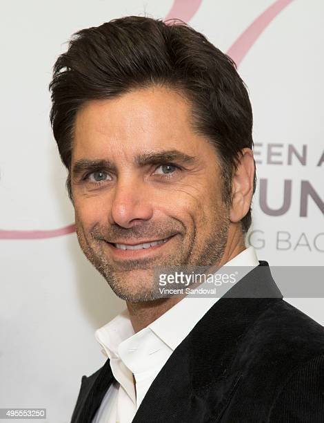 Actor John Stamos attends SAG Foundation's 'Conversations' series screening of 'Grandfathered' at SAG Foundation Actors Center on November 3 2015 in...