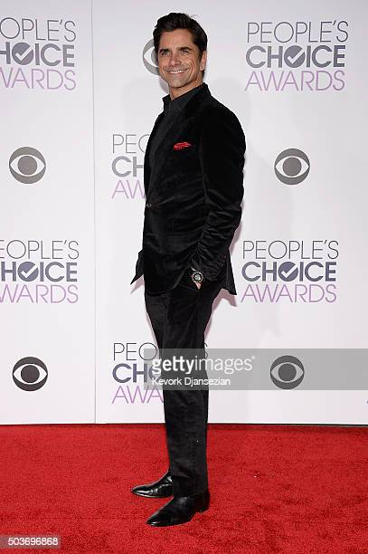 Actor John Stamos attends the People's Choice Awards 2016 at Microsoft Theater on January 6 2016 in Los Angeles California