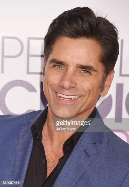 Actor John Stamos attends the People's Choice Awards 2017 at Microsoft Theater on January 18 2017 in Los Angeles California