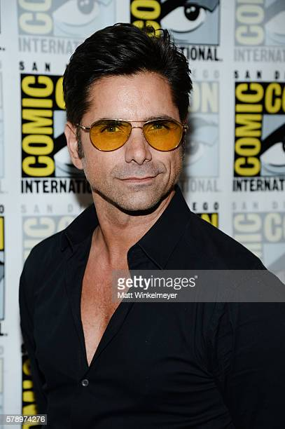 Actor John Stamos attends the 'Scream Queens' press line during ComicCon International at Hilton Bayfront on July 22 2016 in San Diego California
