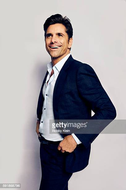 Actor John Stamos from FOX's 'Scream Queens' poses for a portrait at the FOX Summer TCA Press Tour at Soho House on August 9 2016 in Los Angeles...