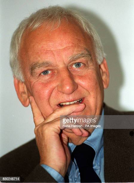 Actor John Thaw during a photocall in London where author Colin Dexter confirmed that he has killed off his hugely successful crime creation...