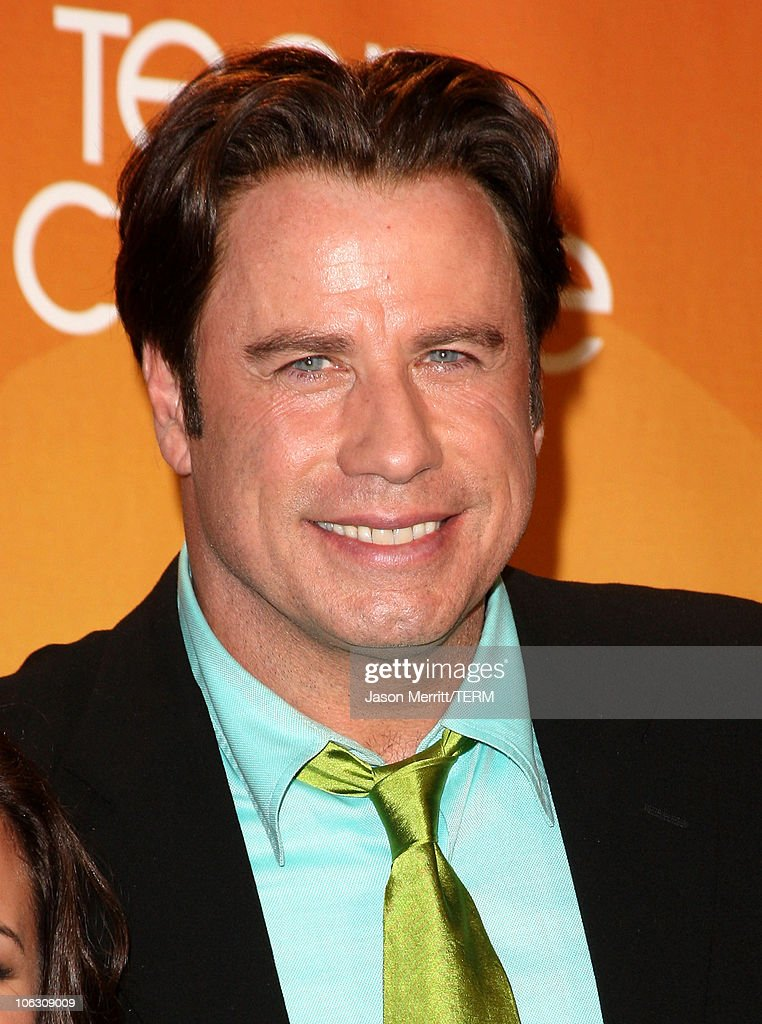 Actor <a gi-track='captionPersonalityLinkClicked' href=/galleries/search?phrase=John+Travolta&family=editorial&specificpeople=178204 ng-click='$event.stopPropagation()'>John Travolta</a> at the 2007 Teen Choice Awards at the Gibson Amphitheater on August 26, 2007 in Universal City, California.