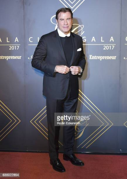 Actor John Travolta attends City Gala 2017 at Walt Disney Concert Hall on February 12 2017 in Los Angeles California