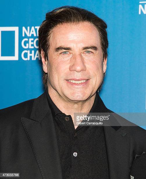 Actor John Travolta attends the 2015 FOX Programming Presentation at Wollman Rink Central Park on May 11 2015 in New York City