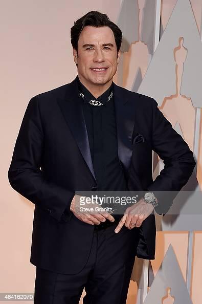 Actor John Travolta attends the...