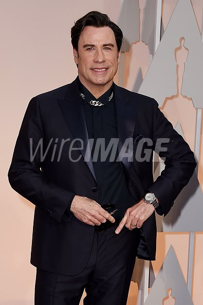 Actor John Travolta attends the...