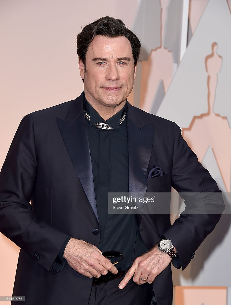 Actor <a gi-track='captionPersonalityLinkClicked' href=/galleries/search?phrase=John+Travolta&family=editorial&specificpeople=178204 ng-click='$event.stopPropagation()'>John Travolta</a> attends the 87th Annual Academy Awards at Hollywood & Highland Center on February 22, 2015 in Hollywood, California.