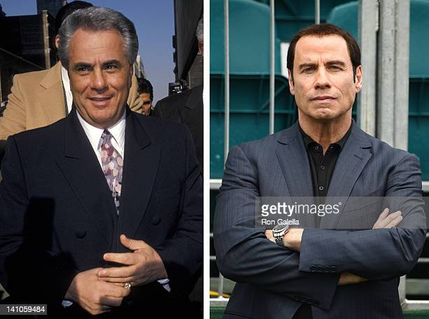 In this composite image a comparison has been made between John Gotti and actor John Travolta John Travolta will reportedly play John Gotti in a film...