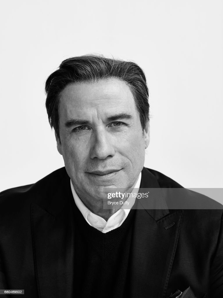 Actor John Travolta photographed for Variety on April 2, 2016, in Los Angeles, California.