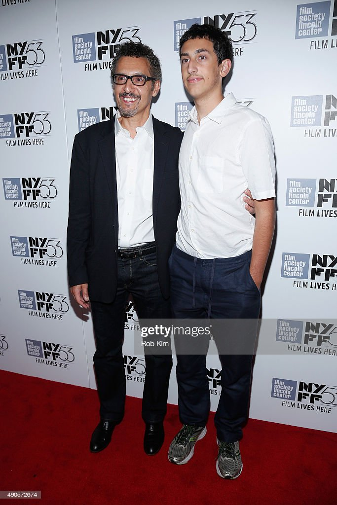 Actor John Turturro (L) and Diego Turturro attend the 15th anniversary screening of 'O Brother, Where Art Thou?' during the 53rd New York Film Festival at Alice Tully Hall on September 29, 2015 in New York City.