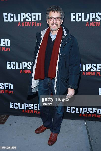 Actor John Turturro attends the 'Eclipsed' broadway opening night at The Golden Theatre on March 6 2016 in New York City