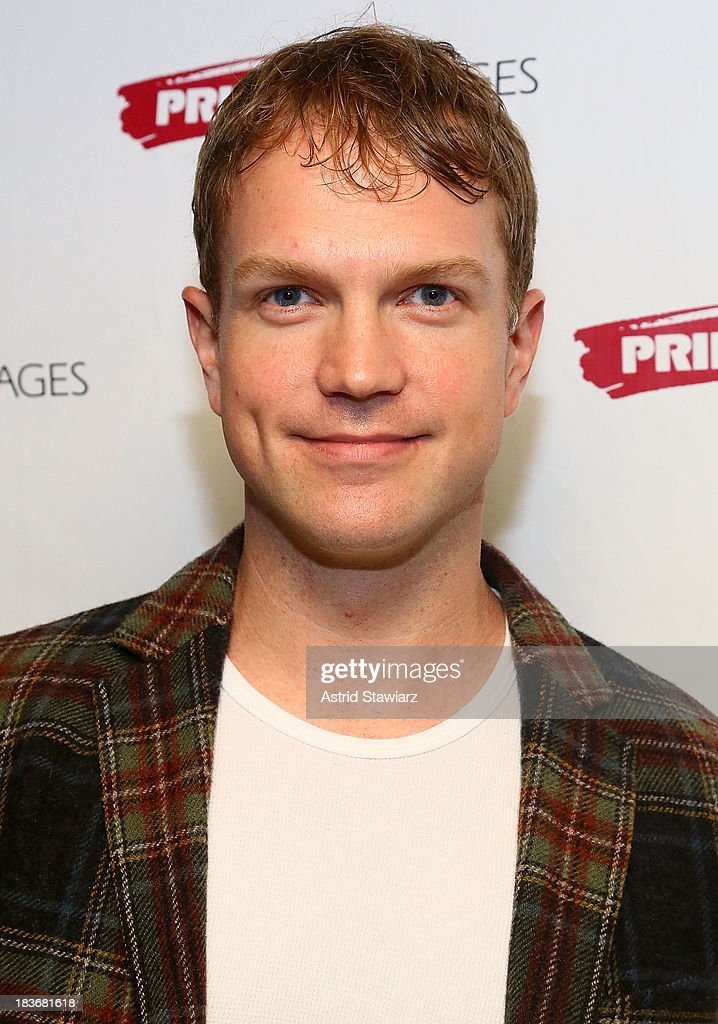 Actor John Wernke attends the 'Bronx Bombers' opening night after Party at West Bank Cafe on October 8, 2013 in New York City.
