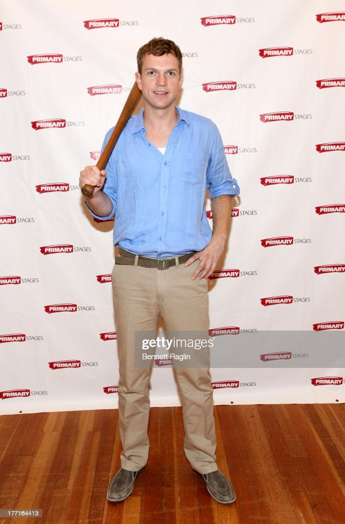 Actor John Wernke attends the cast meet and greet for the upcoming Off-Broadway production 'Bronx Bombers' at Playwrights Horizons Rehearsal Studios on August 21, 2013 in New York City.