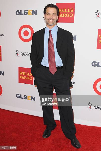 Actor Johnathon Schaech arrives at the 10th Annual GLSEN Respect Awards at Regent Beverly Wilshire Hotel on October 17 2014 in Beverly Hills...