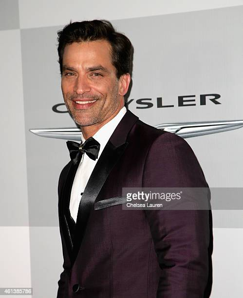 Actor Johnathon Schaech attends the NBCUniversal 2015 Golden Globe Awards Party sponsored by Chrysler at The Beverly Hilton Hotel on January 11 2015...