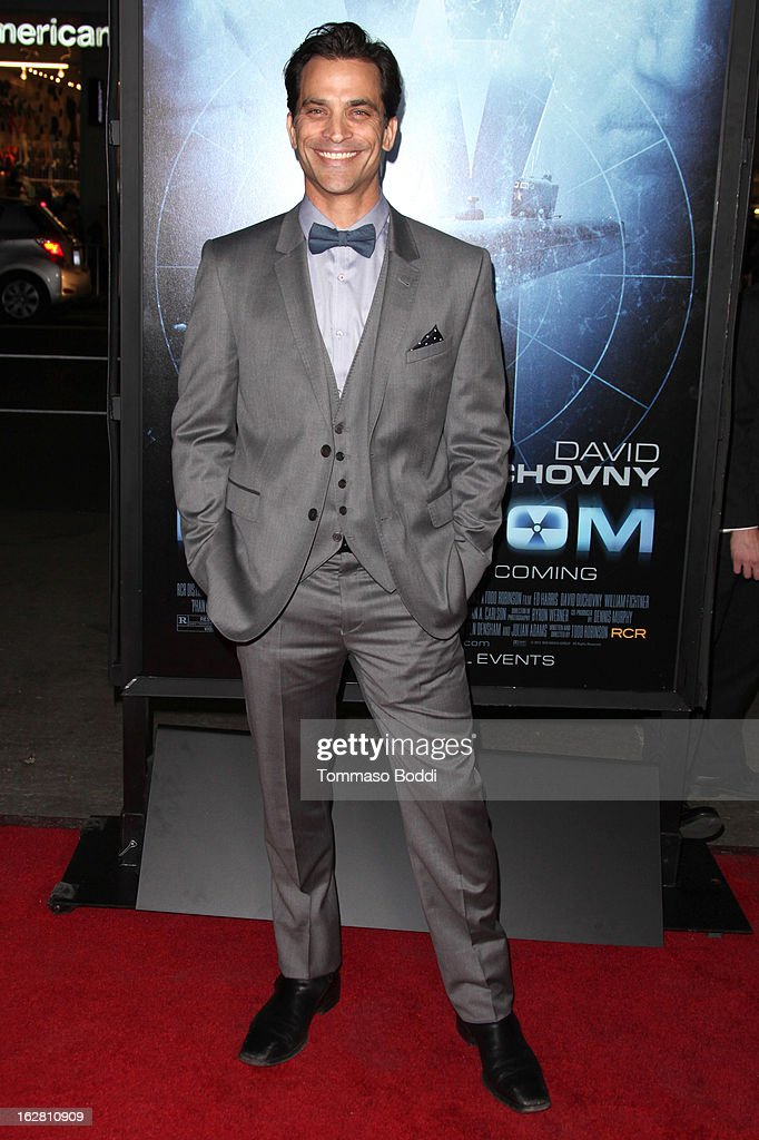 Actor Johnathon Schaech attends the 'Phantom' Los Angeles premiere held at the TCL Chinese Theatre on February 27, 2013 in Hollywood, California.